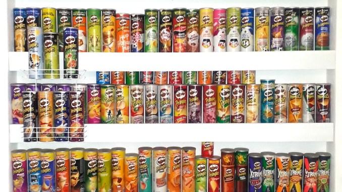Pringles-Sammlung Irene Berlin Teil 1 Ausschnitt