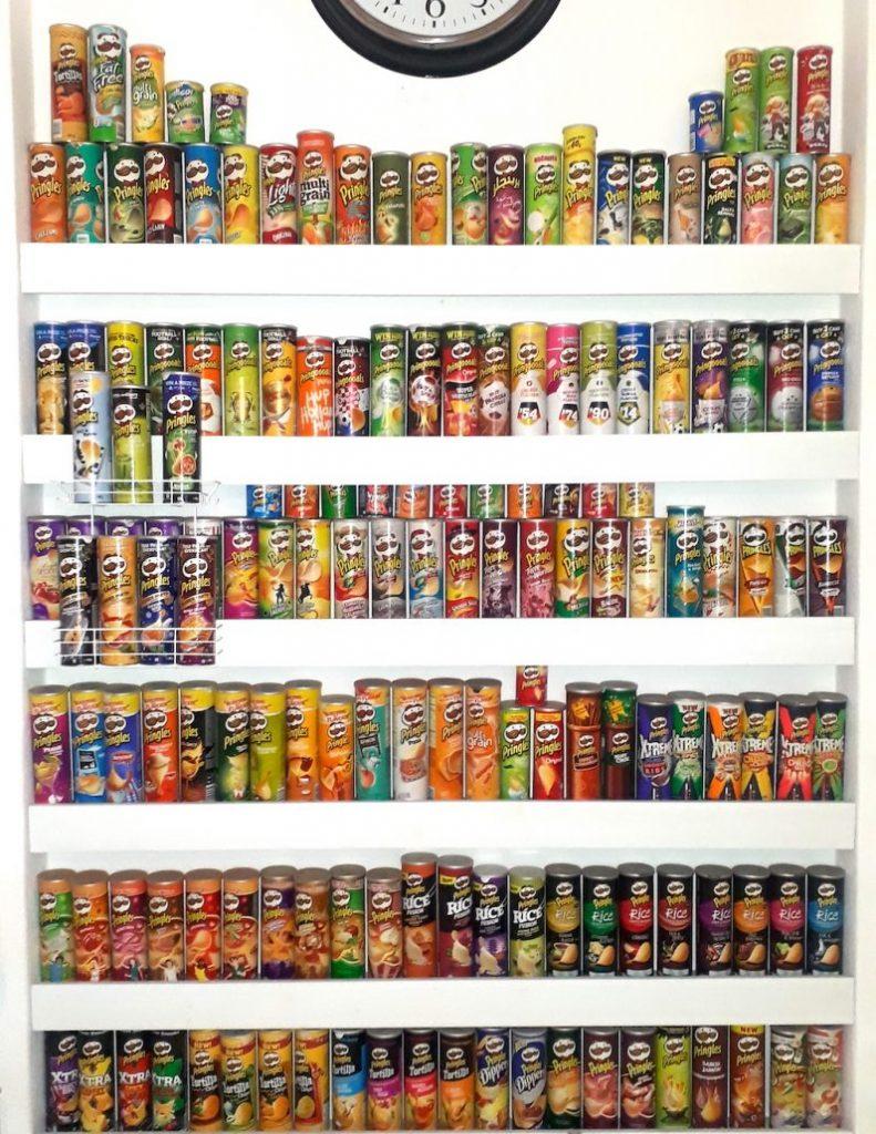 Pringles-Sammlung Irene Berlin Teil 1
