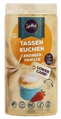 Soulfood Tassenkuchen Erdbeer-Vanille Lower Carb