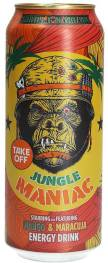 Take Off Energydrink Jungle Maniac Mango Maracuja Getränkedose Affenmotiv 500ml