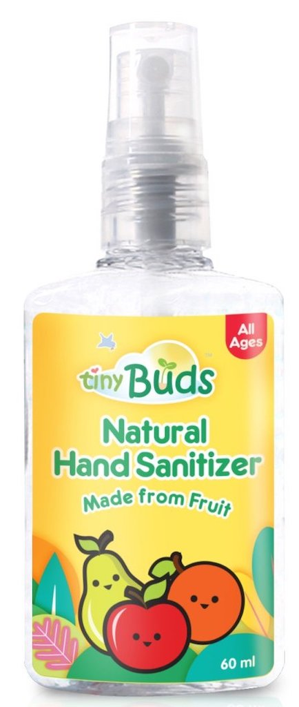 Tiny Buds Natural Hand Sanitizer Made from Fruit 60ml