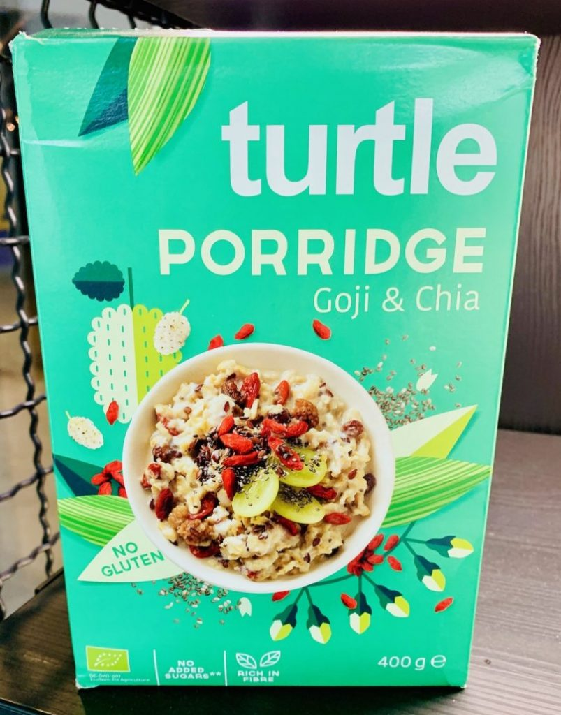 Turtle Porrdige Goji+Chia 400G