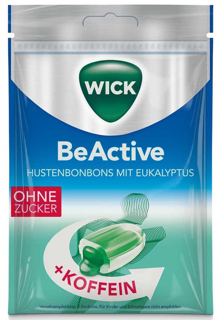 Wick BeActive mit Koffein Ohne Zucker 72g
