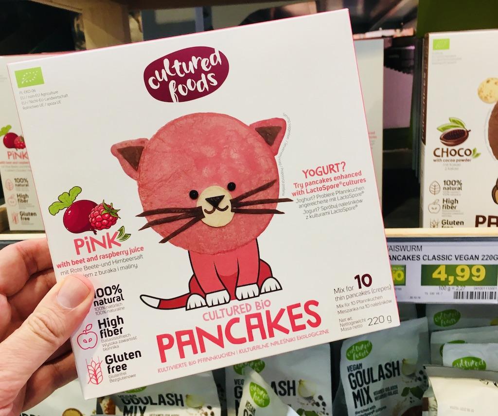 cultured foods Pink Pancakes Mix 10er