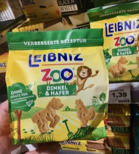 Bahlsen Leibniz Zoo Dinkel+Hafer ohne Konservierungs- und Farbstoffe