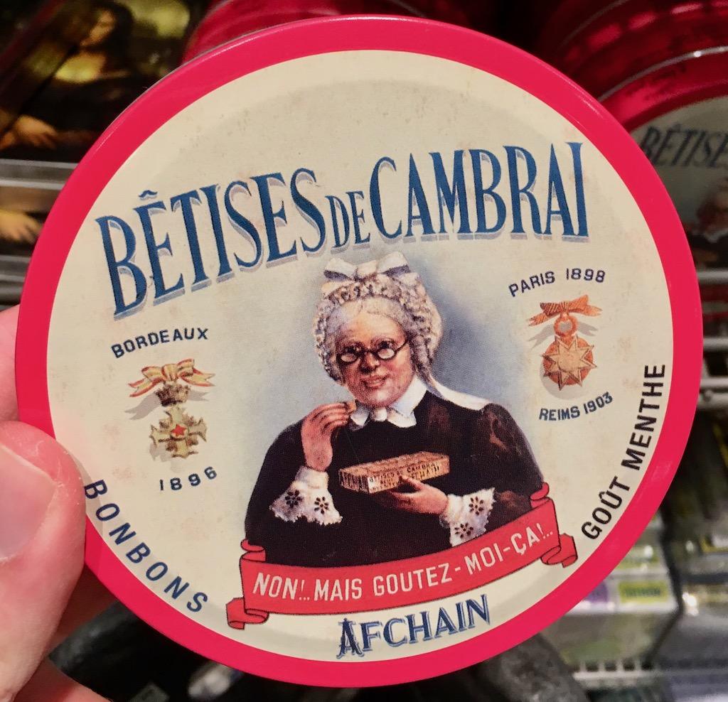 Betises de Cambrai Bonbons Menthe