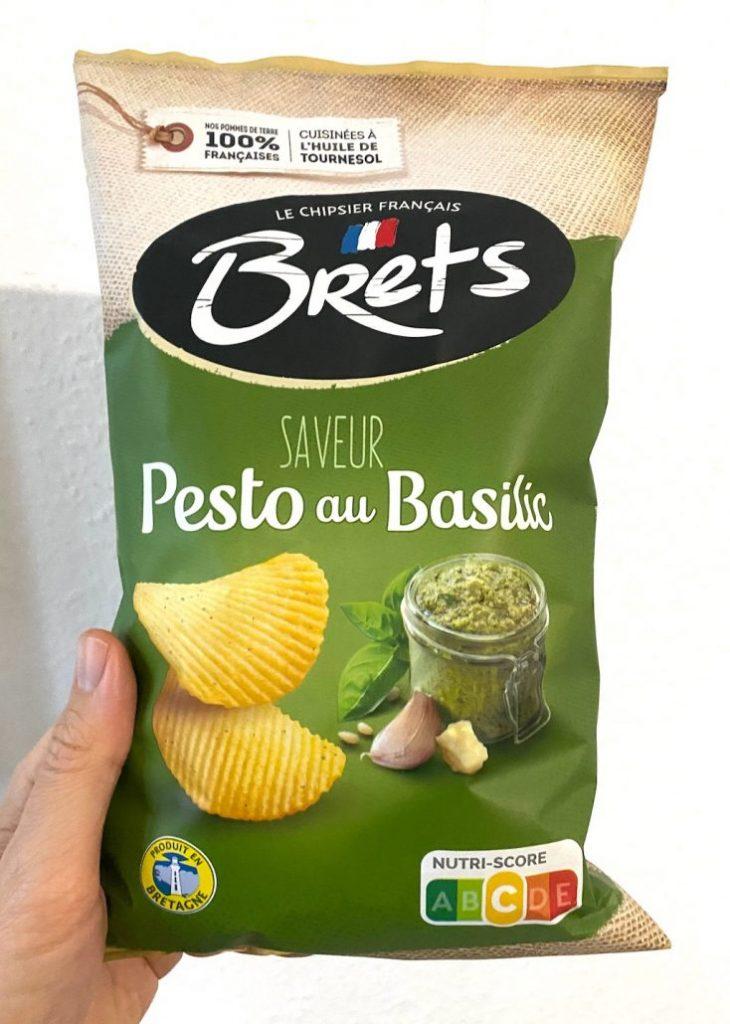 Brets Kartoffelchips Pestogeschmack Nutri-Score
