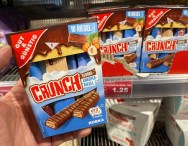 EDEKA Gut+Günstig Crunch Schoko-Knusperriegel 10er