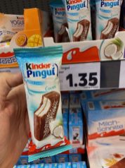 Ferrero Kinder Pingui Milch-Creme Cocos