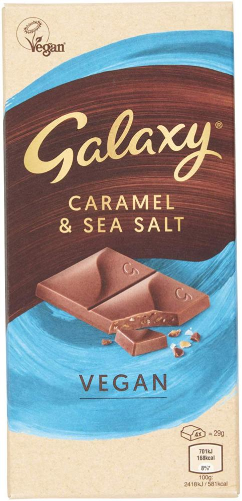 Galaxy vegan salted caramel chocolate 100g