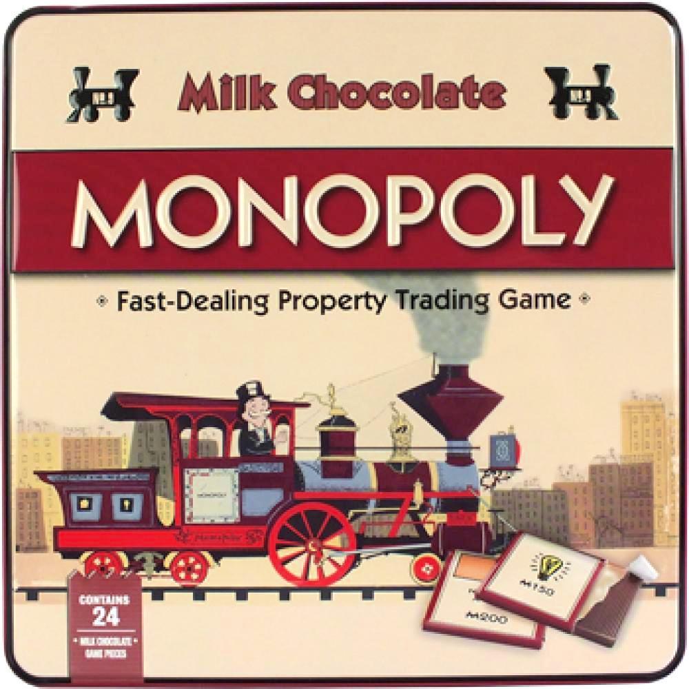Hasbro Milk Chocolate Monopoly