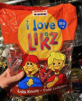 Holland Food I Love Likz 200 Lutscher 1000G Häßliche Verpackung