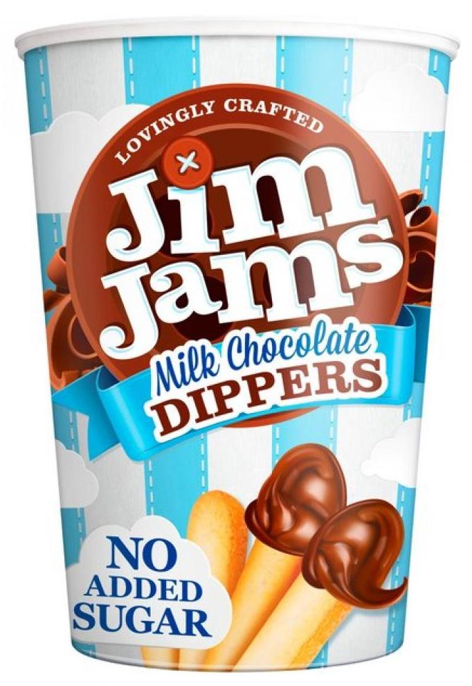 Jim Jams Milk Chocolate Dippers No added Sugar