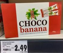 """SwissLion Technology: """"Choco banana"""", 252 Gramm, Schokobanane"""
