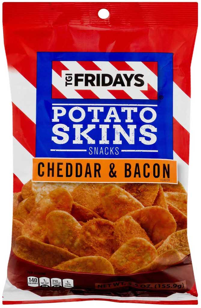 tgi fridays Potato Skins Cheddar+bacon