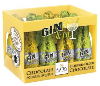 Abtey Chocolatier Gin+Co Minifläschchen