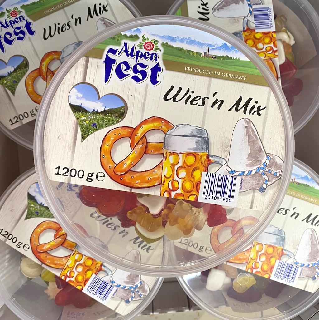 Alpenfest Wies'n Mix Fruchtgummi 1200G
