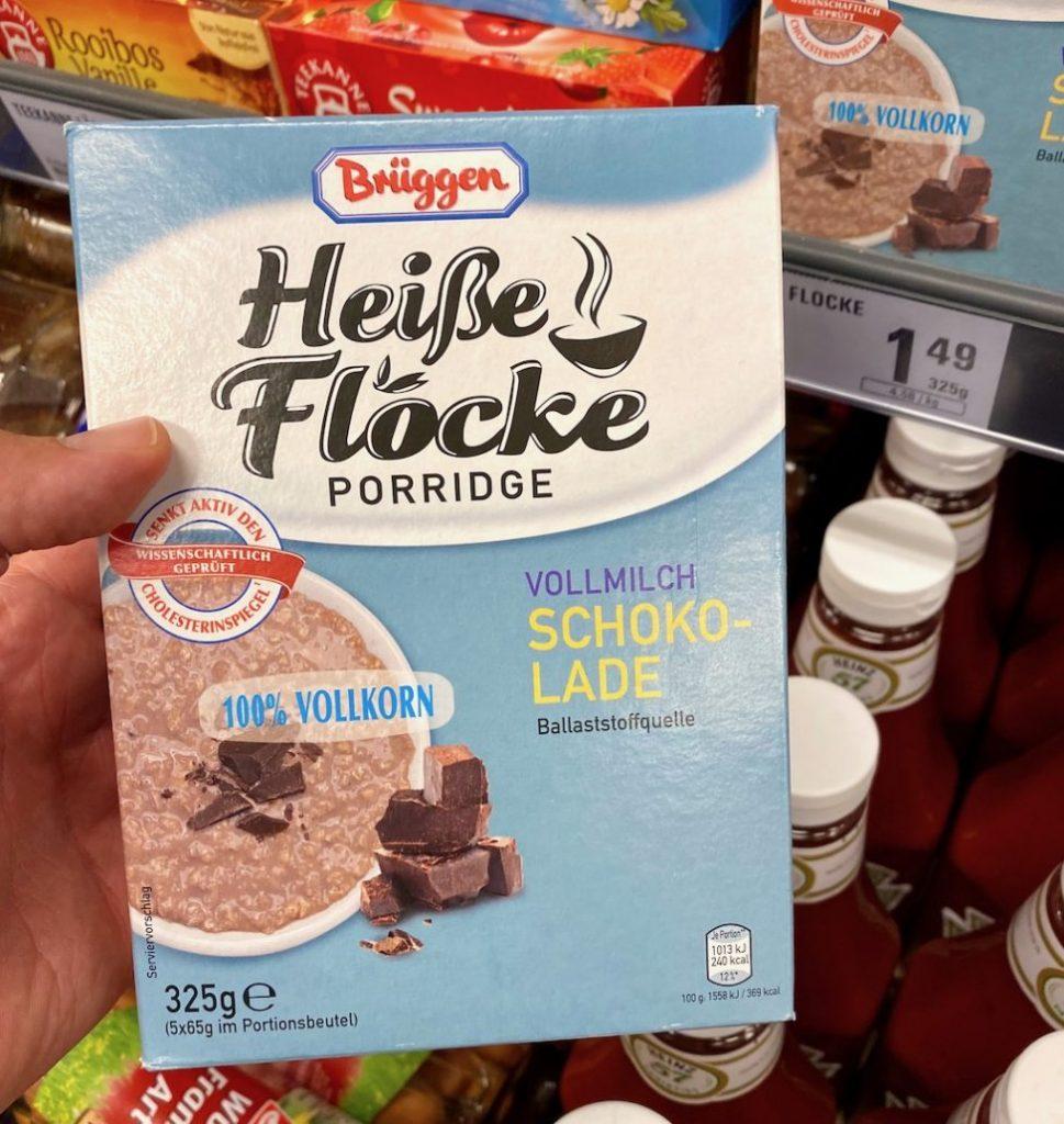 Brüggen Heiße Flocke Porridge Vollmilch Schokolade 325G