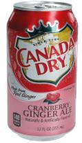 Canada Dry Cranberry Ginger Ale Getränkedose 355ml