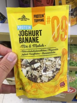 Lidl Crownfield Protein Topping Joghurt Banane 45G Müsli Mix+Match