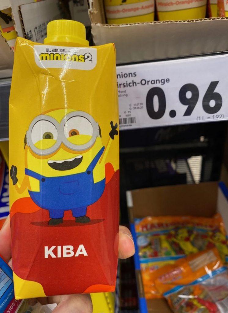 Mionions2 KIBA Saft Trinkpack