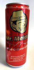 Mr. Meister Wald-Erdbeer-Limo 10% Fruchtsaft erdbeerig-herb Dose