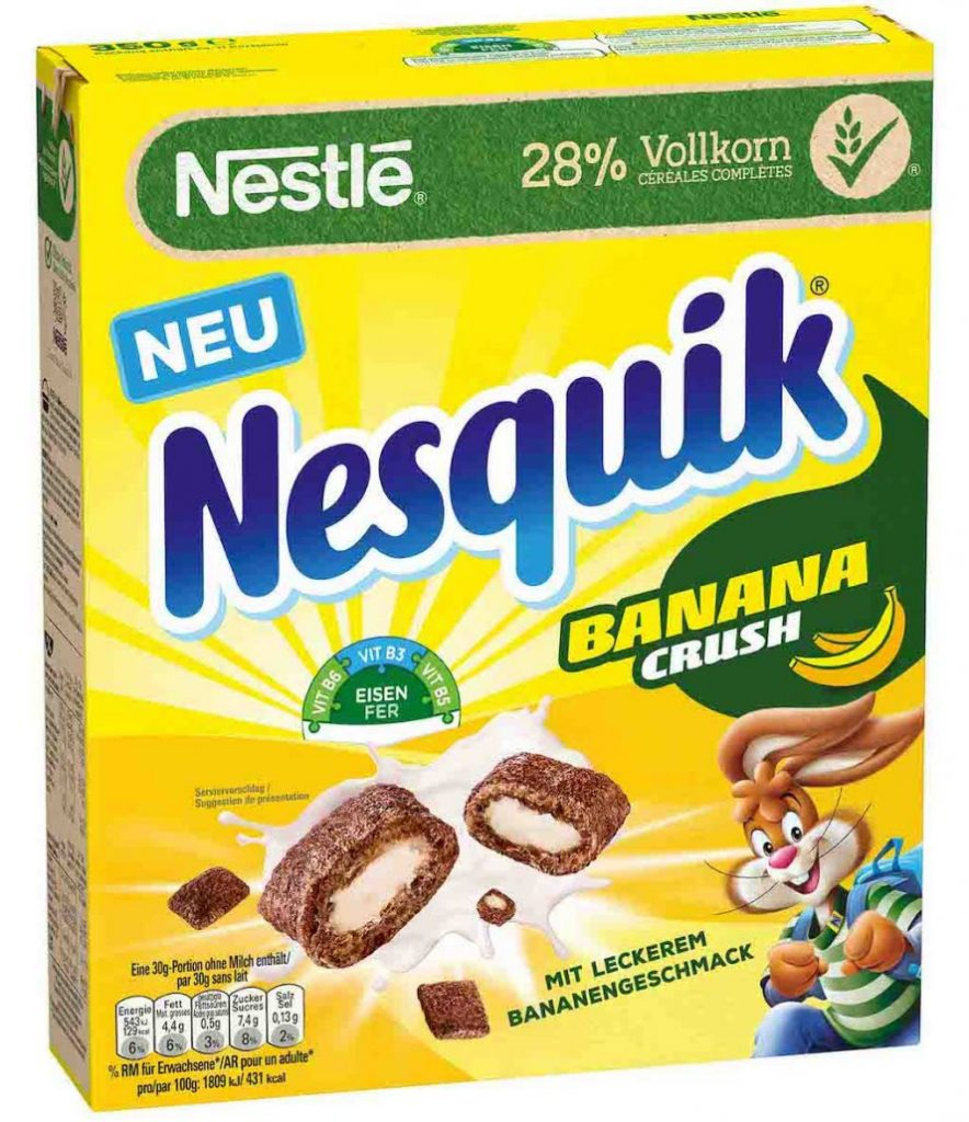 Nestlé Nesquik Banana Crush 350g