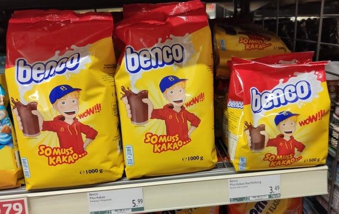Benco So muss Kakao Wow Kakaopulver