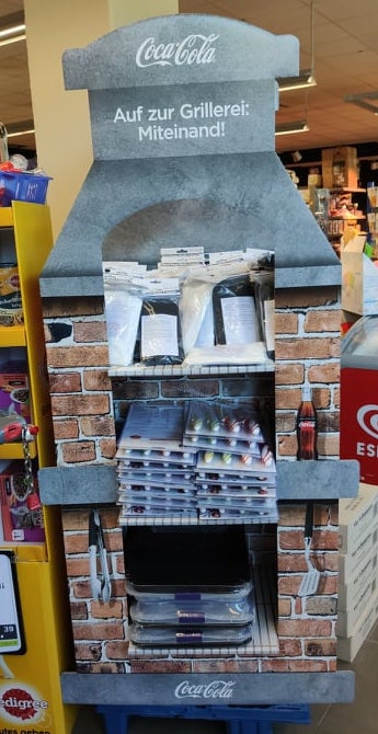 Coca Cola Grillerei Display