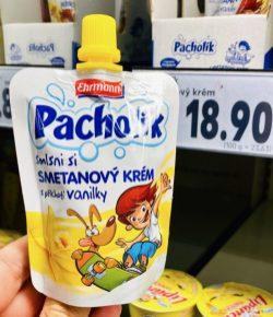 Ehrmann Pacholik Vanille Quetschie Tschechien