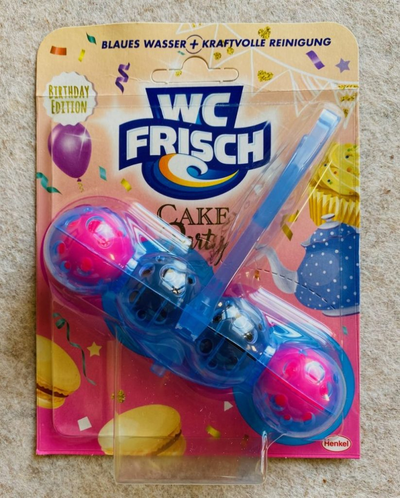 Henkel WC Frisch Birthday Edition Cake Party