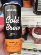 J. Hornig Cold Brew Coffee Sparkling Orange Dose Österreich
