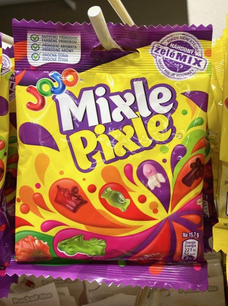 JoJo Mixle Pixle Fruchtgummi Tschechien