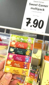 Lidl Sweet Corner Multipack Zuckerkomprimat PEZ-Imitat Tschechien