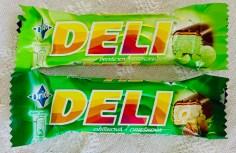 Nestlé Orion Deli-Riegel Pistazie und Haselnuss