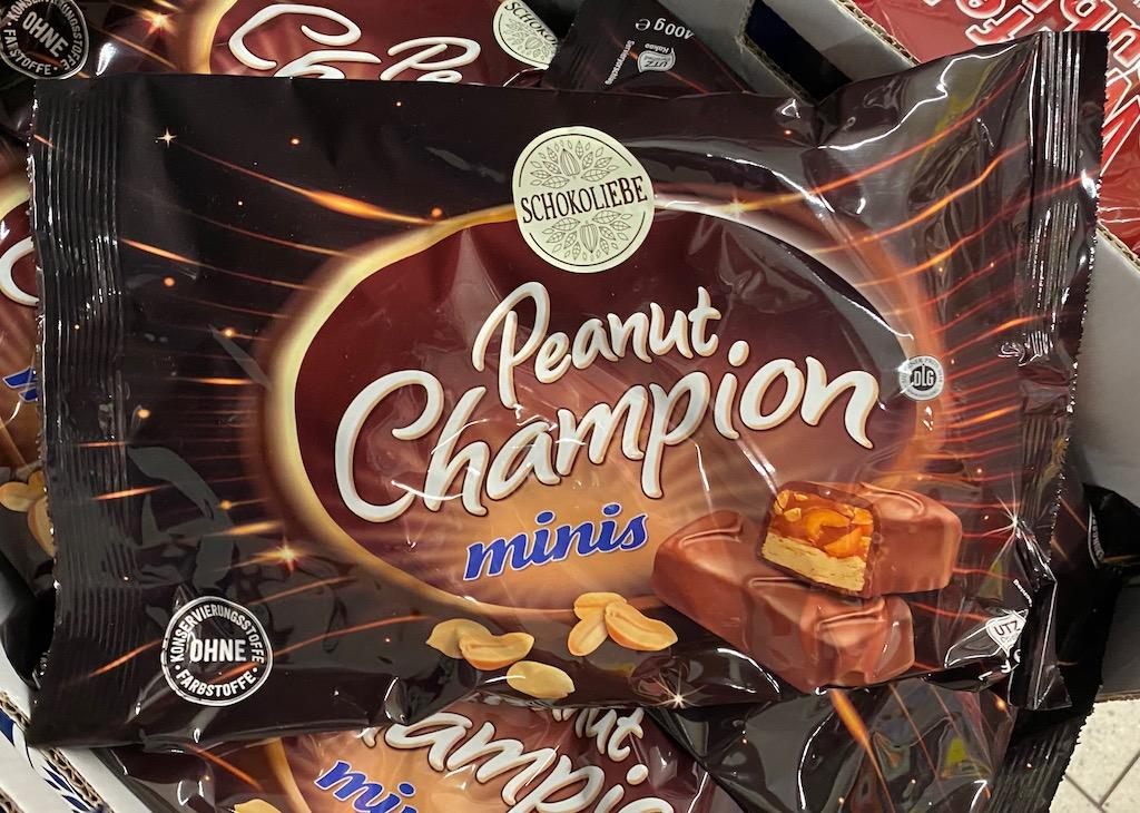 Neto Schokoliebe Peanut Champion Minis Snickers-Imitat