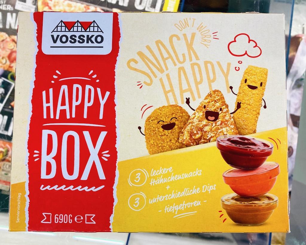Vossko Happy Box Chicken Nuggets 3 Dipps TK 690G