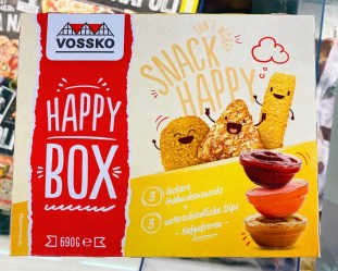 Vossko Happy Box Chicken Nuggets 3 Dipps TK 690G
