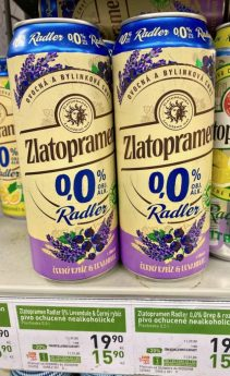 Zlatopramen Radler mit Lavendel Tschechien