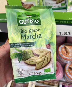 Aldi GutBio Bio-Kekse Matcha 150G