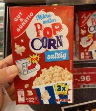 EDEKA Gut+Günstig Mikrowellen-Popcorn Salzig 3er