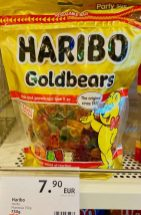 Haribo Goldbears Travel Edition Duty Free 750G