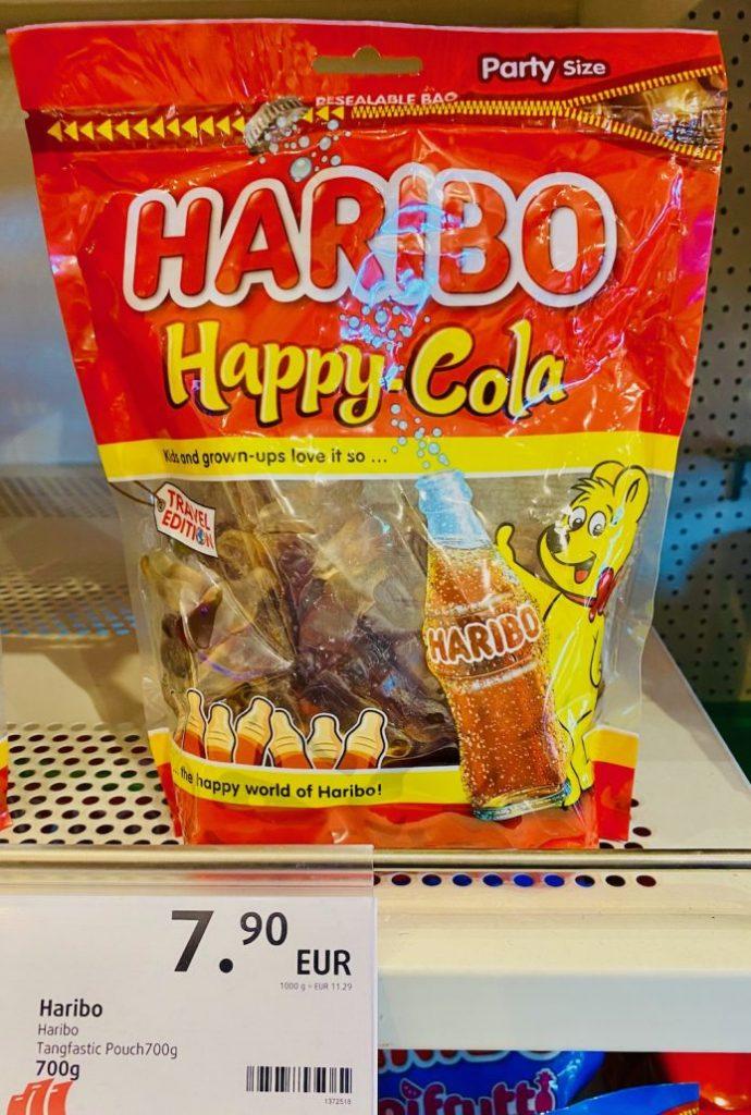 Haribo Happy Cola 700G Duty Free