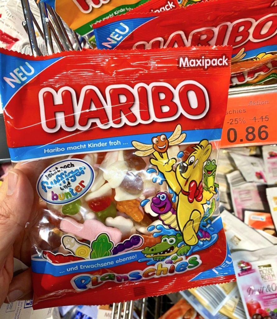 Haribo Planschies fluffiger und bunter mit Schaumzucker