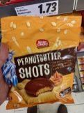 Lidl Mister Choc Peanutbutter Shots 150G