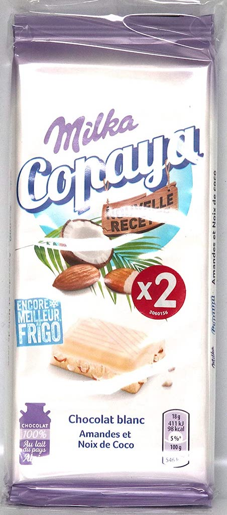Milka Copaya Kokos Weiße Schokolade