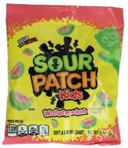 Mondelez Sour Patch Kids Watermelon Soft & Chewy Candy Wasermelone 141g