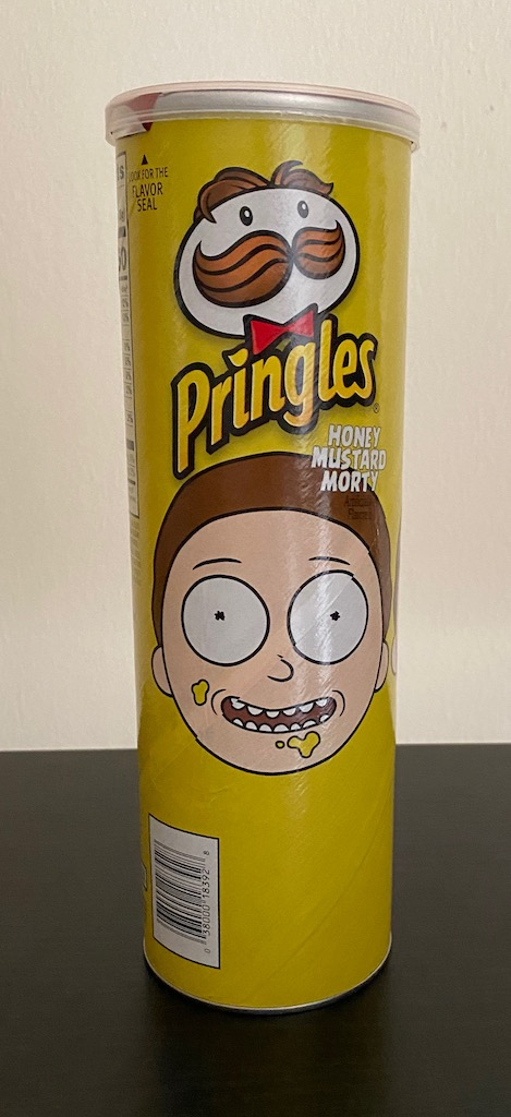 Pringles Honey Mustard Morty