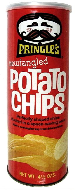 Pringles Potato Chips Old Can