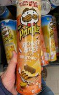 Pringles Roast Beef and Mustard 200G Belgien 2020